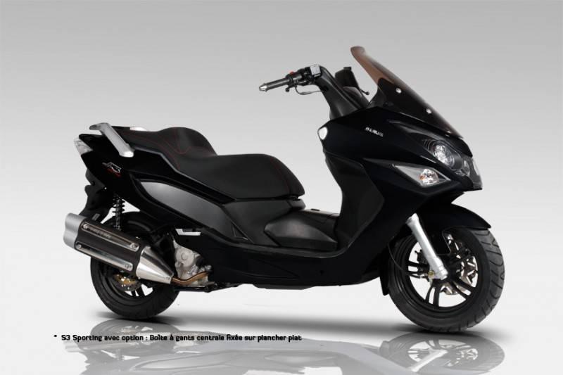 daelim s3 125 sporting scooter neuf et occasion aix en provence exl moto. Black Bedroom Furniture Sets. Home Design Ideas